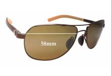 Maui Jim Guardrails MJ327 Replacement Sunglass Lenses - 58mm wide