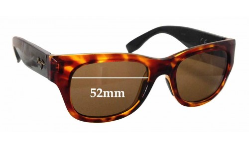 Maui Jim Kahoma 285 Replacement Sunglass Lenses - 52mm wide