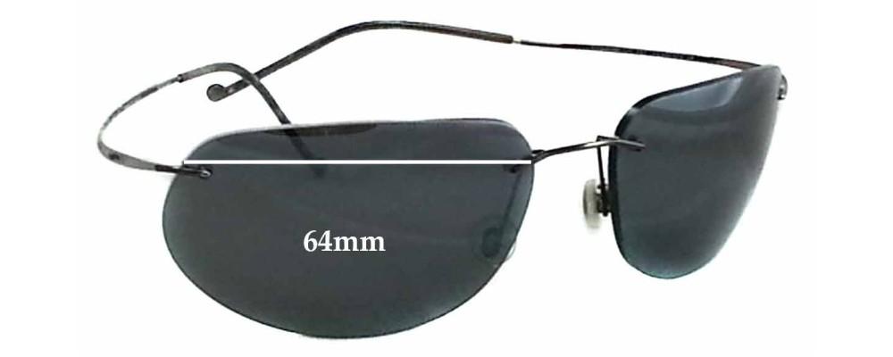 e1faf3daa46a Maui Jim MJ502 Kapalua Replacement Lenses 64mm by The Sunglass Fix™