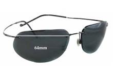 1272120f9a92d Maui Jim MJ502 Kapalua Replacement Sunglass Lenses - 64mm Wide