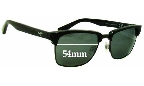 Maui Jim MJ257 Kawika Replacement Sunglass Lenses - 54mm Wide