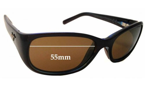 Maui Jim Kuiaha Bay MJ286 Replacement Sunglass Lenses - 55mm Wide