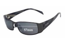 Maui Jim MJ122 Nalu Replacement Sunglass Lenses - 57mm Wide