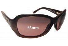 Maui Jim Pearl City MJ214 Replacement Sunglass Lenses - 63mm Wide