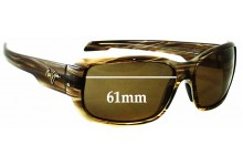 Maui Jim MJ226 Hamoa Beach Replacement Sunglass Lenses - 61mm Wide