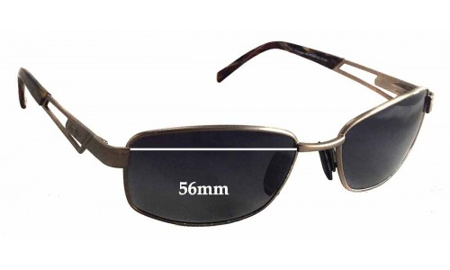 Maui Jim MJ227 Replacement Sunglass Lenses - 56mm wide - 35mm tall