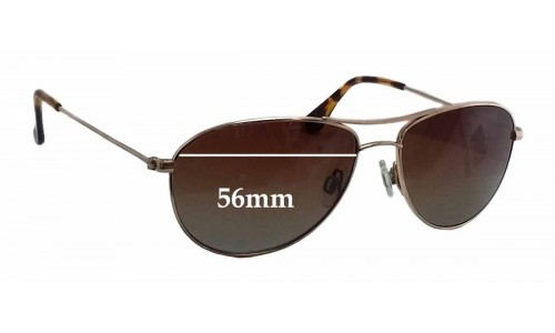 Maui Jim MJ245 Baby Beach Replacement Sunglass Lenses - 56mm wide