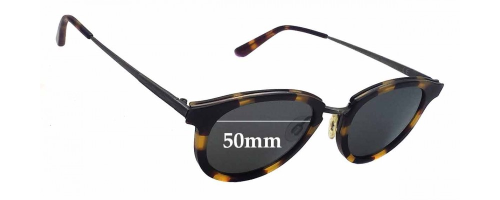 Maui Jim MJ263 Kolohe Replacement Sunglass Lenses - 50mm Wide