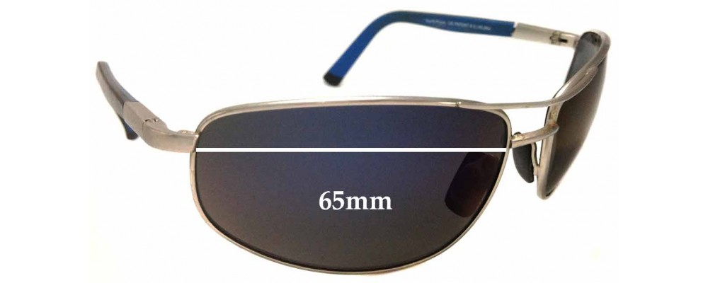 Maui Jim MJ272 North Point Replacement Sunglass Lenses - 65mm Wide