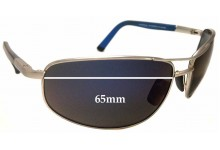 0703b0e6a0398 Maui Jim MJ272 North Point Replacement Sunglass Lenses - 65mm Wide