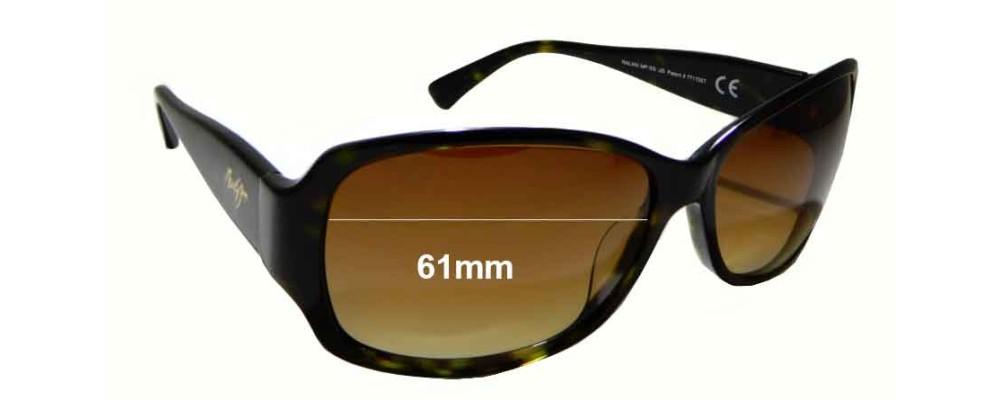 2272291d6d45e Maui Jim Nalani MJ295 Replacement Lenses 61mm by The Sunglass Fix®