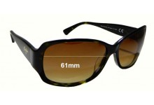 Maui Jim Nalani MJ295 Replacement Sunglass Lenses - 61mm wide