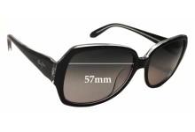 Maui Jim MJ299 Kalena Replacement Sunglass Lenses - 57mm Wide