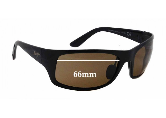 Details about  /Polarized Replacement Lenses for Maui Jim Kahi MJ736 Sunglasses by APEX