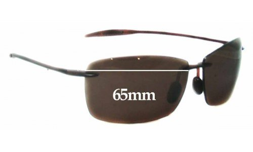 Maui Jim Lighthouse MJ423 Replacement Sunglass Lenses - 65mm Wide
