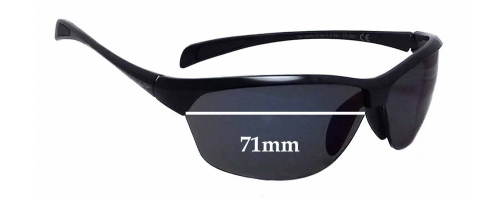 Maui Jim MJ426 Hot Sands Replacement Sunglass Lenses - 71mm wide
