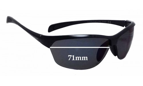 Sunglass Fix Replacement Lenses for Maui Jim MJ426 Hot Sands - 71mm wide
