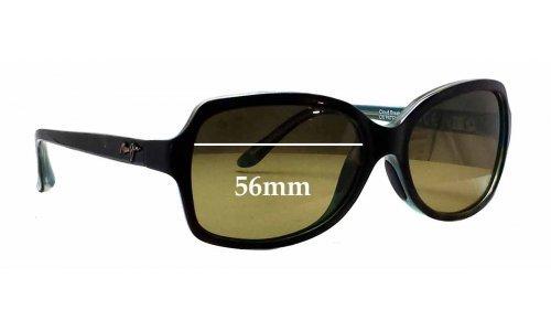 Maui Jim MJ700 Cloud Break Replacement Sunglass Lenses - 56mm wide