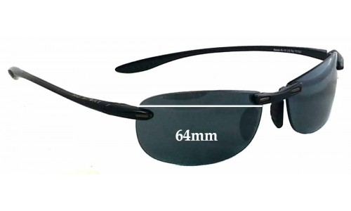 Maui Jim Sport Makaha RX MJ905 Replacement Sunglass Lenses - 64mm Wide