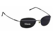 Maui Jim MJ452 Waikiki Replacement Sunglass Lenses - 52mm Wide