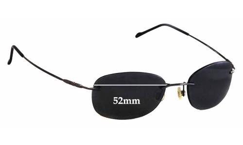 Maui Jim MJ452 Waikiki New Sunglass Lenses - 52mm Wide