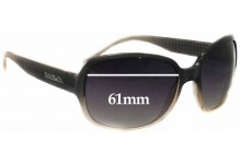 Max & CO Unidentified Replacement Sunglass Lenses - 61mm wide