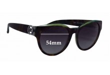 Michael Kors Bermuda MK6001B Replacement Sunglass Lenses - 54mm wide
