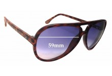 Michael Kors Brynn M2938S Replacement Sunglass Lenses - 59mm wide