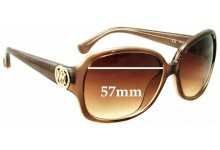 Michael Kors M2789S Harper Replacement Sunglass Lenses - 57mm wide