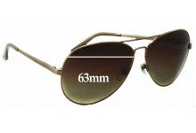 Michael Kors M2058S Lola Replacement Sunglass Lenses - 63mm wide