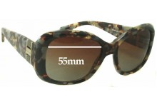Michael Kors MK2004Q Replacement Sunglass Lenses - 55mm wide