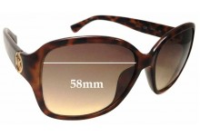 Michael Kors Sophia M2842S Replacement Sunglass Lenses - 58mm wide