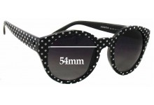 Minkpink Paparazzi Replacement Sunglass Lenses - 54mm wide