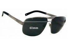 Sunglass Fix New Replacement Lenses for Montblanc MB 322S - 61mm Wide