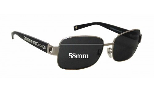 Moschino MO56001 Replacement Sunglass Lenses - 58mm wide