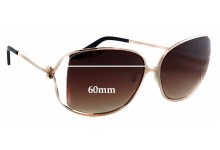 Moschino MO618-02 Replacement Sunglass Lenses - 60mm wide