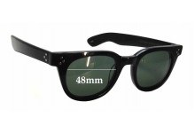 Moscot Vilda Replacement Sunglass Lenses - 48mm wide