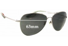 Sunglass Fix New Replacement Lenses for Mosley Tribes Colden MT2029-S - 63mm Wide