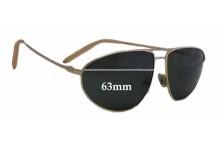 Sunglass Fix New Replacement Lenses for Mosley Tribes Legacy - 63mm Wide