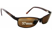 77877f7b77a Maui Jim MJ114 Shoreline New Sunglass Lenses - 57mm Wide. Sunglass Fix  Replacement Lenses ...