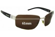 Sunglass Fix New Replacement Lenses for Montblanc MB 36S - 61mm Wide