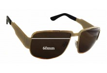 Neostyle Nautic 822 Replacement Sunglass Lenses - 60mm wide - 45.5mm tall