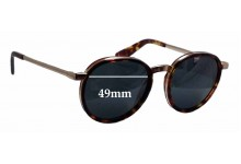 Nick Campbell Malcolm Replacement Sunglass Lenses - 49mm wide