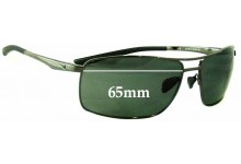 Sunglass Fix Replacement Lenses for Nike Avid II EVO592 - 65mm Wide