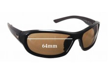 Nike Defiant EVO531 Replacement Sunglass Lenses - 64mm wide