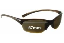 Nike Skylon EXP 2 EVO630 Replacement Sunglass Lenses - 67mm Wide Lenses