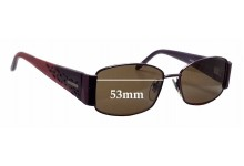 Nina Ricci NR2255 Replacement Sunglass Lenses - 53mm wide