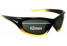 Nike Overpass EVO251 275 Replacement Sunglass Lenses - 62mm wide