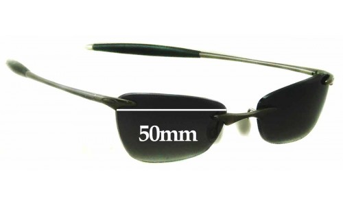 Oakley 3 Replacement Sunglass Lenses - 50mm Wide