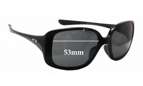 Oakley 9193 Replacement Sunglass Lenses - 53mm wide